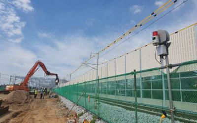 무스마, 철도건설현장 안전을 위한 '중장비 작업구역 이탈 감지 시스템' 최초 도입