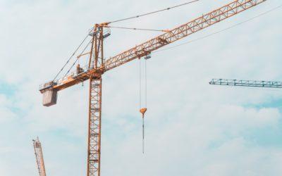 대구 다사역 힐스테이트 건설현장 크레인 충돌방지 시스템 설치