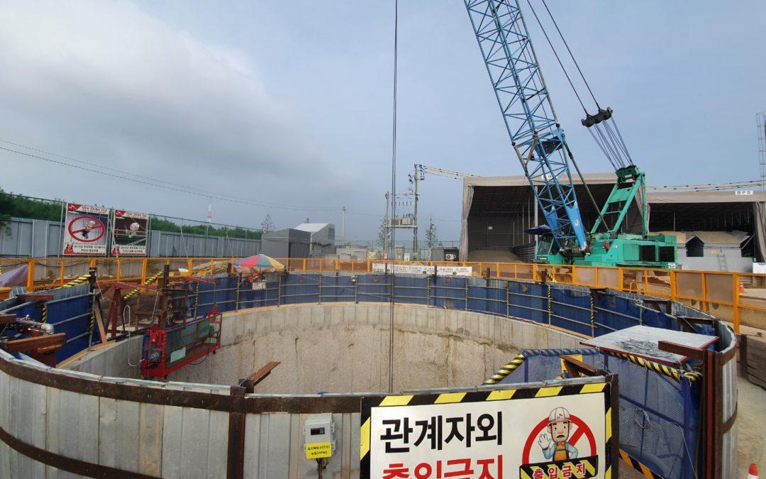 SK건설 서울-일산구간 GTX A노선 공사현장 크람쉘 협착방지 시스템 도입